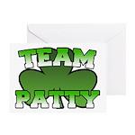 Team Patty Greeting Card