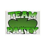 Team Patty Rectangle Magnet