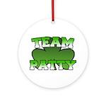 Team Patty Ornament (Round)