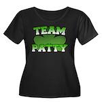 Team Patty Women's Plus Size Scoop Neck Dark T-Shi