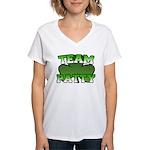 Team Patty Women's V-Neck T-Shirt