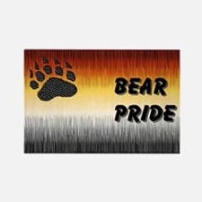 BEAR PRIDE FLAG Rectangle Magnet