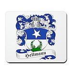 Hellmann Family Crest Mousepad