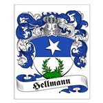 Hellmann Family Crest Small Poster