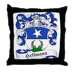 Hellmann Family Crest Throw Pillow