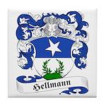 Hellmann Family Crest Tile Coaster