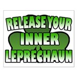 Release You Inner Leprechaun Small Poster