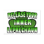 Release You Inner Leprechaun Mini Poster Print