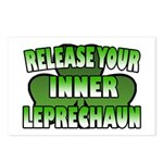 Release You Inner Leprechaun Postcards (Package of
