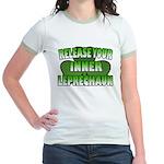 Release You Inner Leprechaun Jr. Ringer T-Shirt