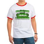Release You Inner Leprechaun Ringer T
