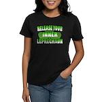 Release You Inner Leprechaun Women's Dark T-Shirt