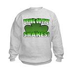Bring on the Snakes Kids Sweatshirt