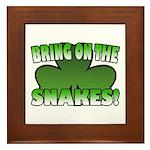 Bring on the Snakes Framed Tile