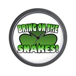 Bring on the Snakes Wall Clock