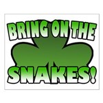 Bring on the Snakes Small Poster