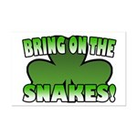 Bring on the Snakes Mini Poster Print