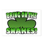 Bring on the Snakes Postcards (Package of 8)
