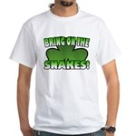 Bring on the Snakes White T-Shirt