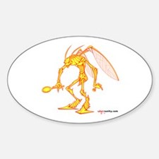 Vanity Oval Decal