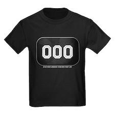 Romeo Zero Kids Black T-Shirt