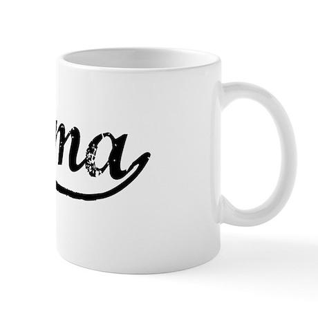 Vintage Tacoma (Black) Mug