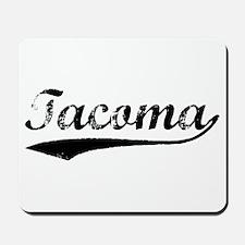 Vintage Tacoma (Black) Mousepad