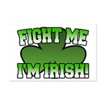 Fight Me I'm Irish Mini Poster Print