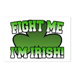 Fight Me I'm Irish Postcards (Package of 8)