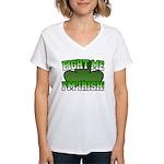 Fight Me I'm Irish Women's V-Neck T-Shirt