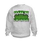 Spank Me I'm Irish Kids Sweatshirt
