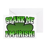 Spank Me I'm Irish Greeting Cards (Pk of 10)