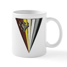 2 IMAGE STAINED GLASS TRIANGE BEAR PRIDE FLAG Mug