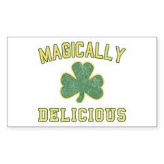Magically Delicious Rectangle Decal