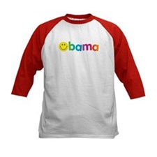 Obama Smiley Face Rainbow Tee