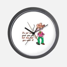 Cute Funny billiards Wall Clock
