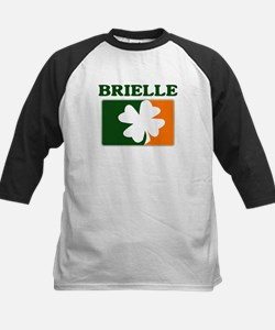 Brielle Irish (orange) Kids Baseball Jersey