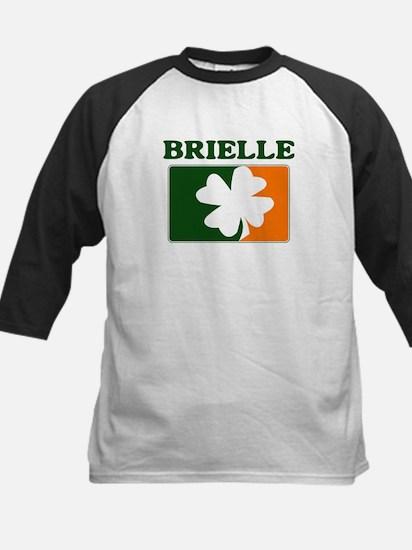 Brielle Irish (orange) Kids Baseball Jersey