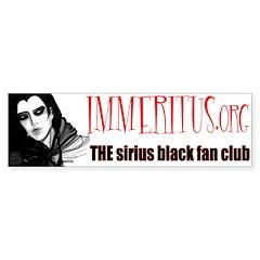 NEW Immeritus.org Bumper Bumper Sticker
