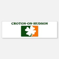 Croton-on-Hudson Irish (orang Bumper Bumper Bumper Sticker