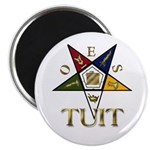 OES Round TUIT Magnet