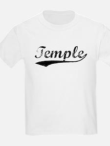 Vintage Temple (Black) T-Shirt
