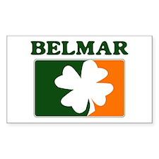 Belmar Irish (orange) Rectangle Decal