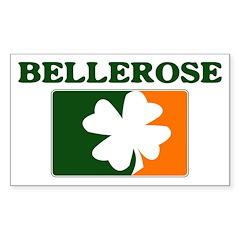 Bellerose Irish (orange) Rectangle Decal