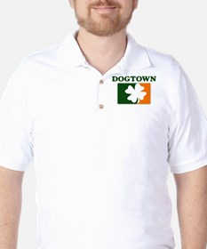 Dogtown Irish (orange) Golf Shirt
