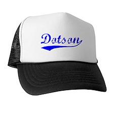 Vintage Dotson (Blue) Trucker Hat
