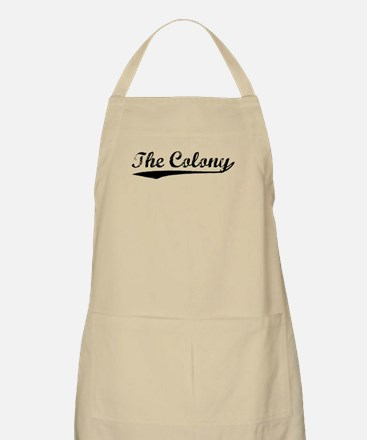 Vintage The Colony (Black) BBQ Apron
