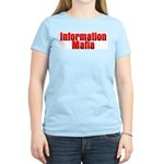Information Mafia Women's Pink T-Shirt