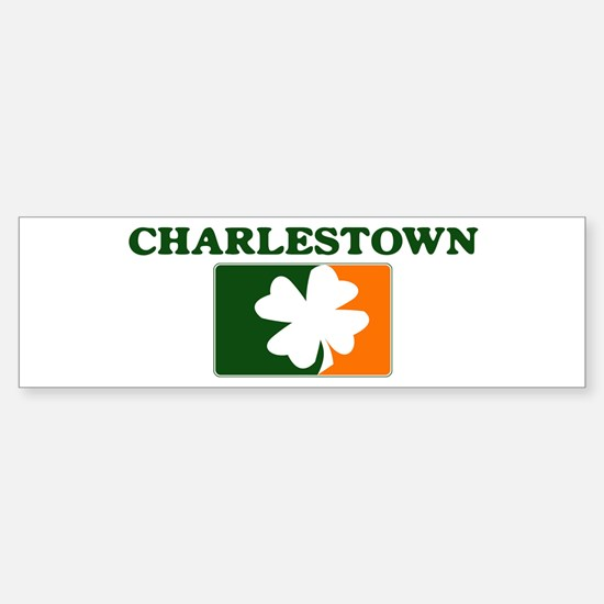 Charlestown Irish (orange) Bumper Bumper Bumper Sticker