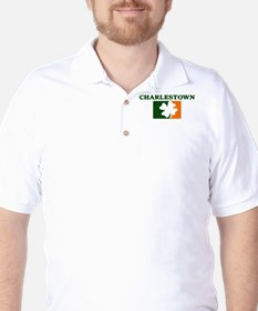 Charlestown Irish (orange) Golf Shirt